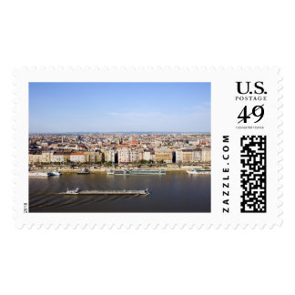 Budapest Cityscape Postage Stamp