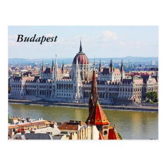 Budapest, el edificio del parlamento, Budapest Postales