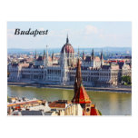 Budapest, el edificio del parlamento, Budapest Tarjetas Postales