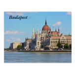 Budapest, el edificio del parlamento, Budapest Tarjeta Postal