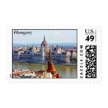Budapest, el edificio del parlamento, Hungría Franqueo