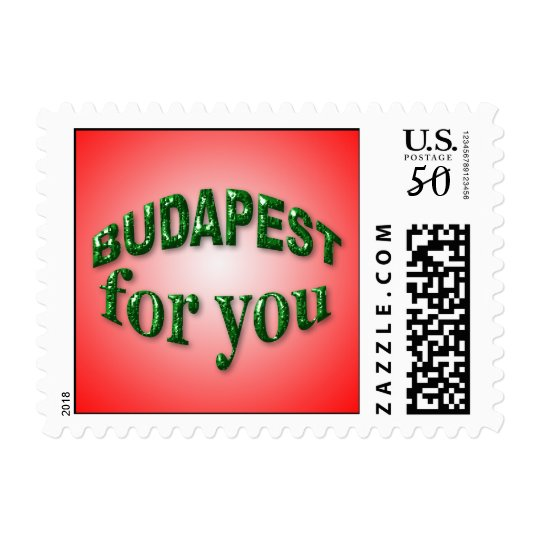 Budapest for You Postage