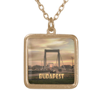 Budapest Gold Plated Necklace