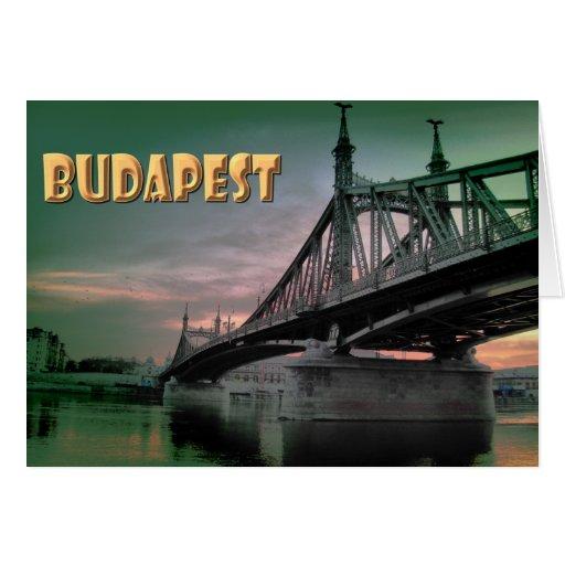 Budapest Greeting Card
