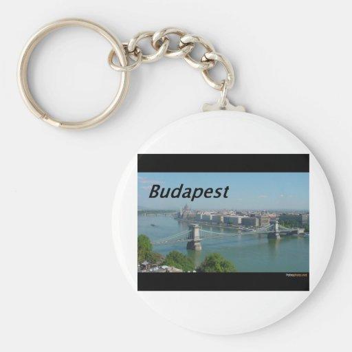 Budapest-horizonte. [kan.k] llavero personalizado