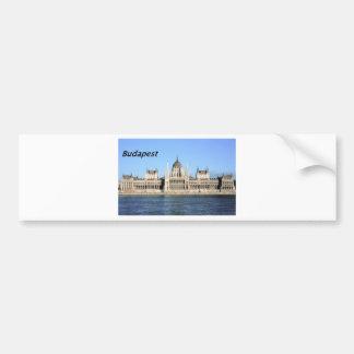 Budapest-hoteles [kan.k] etiqueta de parachoque