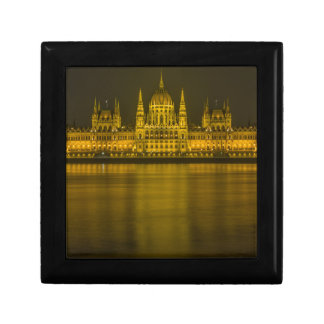 Budapest hungarian parliament building trinket boxes
