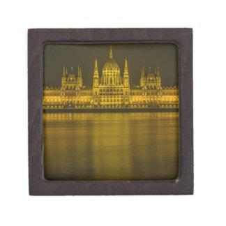 Budapest hungarian parliament building premium gift box