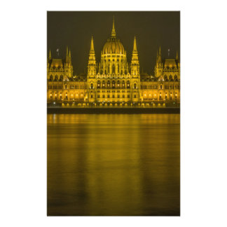 Budapest hungarian parliament building stationery