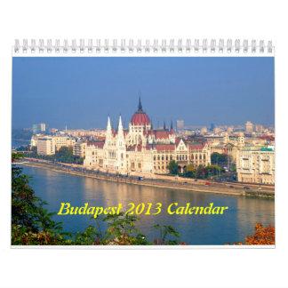 Budapest, Hungary 2013 Calendar