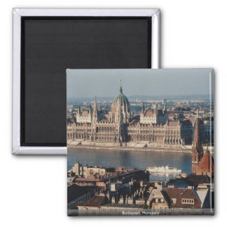 Budapest, Hungary 2 Inch Square Magnet