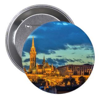 Budapest, Hungary Button