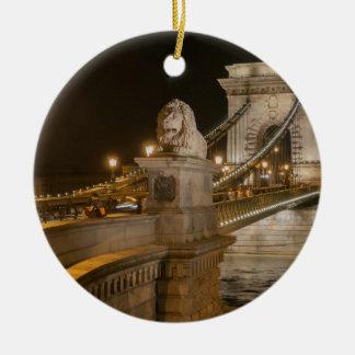 Budapest, Hungary Ceramic Ornament