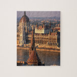 Budapest, Hungary, Danube River, Parliament Jigsaw Puzzle