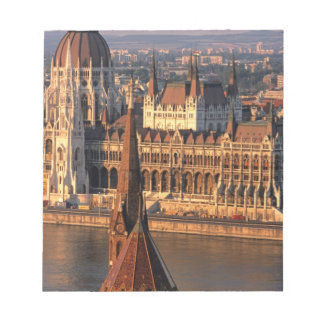 Budapest, Hungary, Danube River, Parliament Memo Notepad