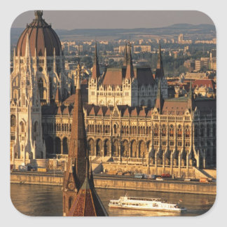 Budapest, Hungary, Danube River, Parliament Stickers