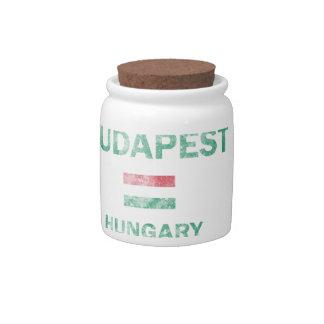 Budapest Hungary Designs Candy Jars
