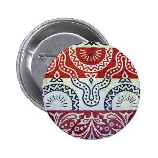 budapest hungary matthias church wall decoration pinback button