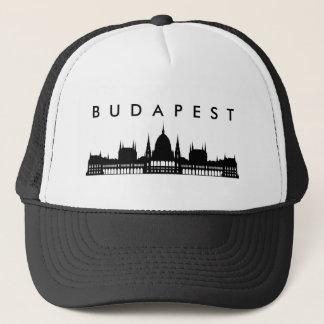 budapest hungary parliament palace architecture trucker hat