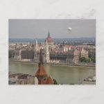 Budapest Parliament Hungary postcard