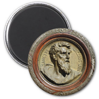 budapest hungary saint jacob religion portrait god magnet
