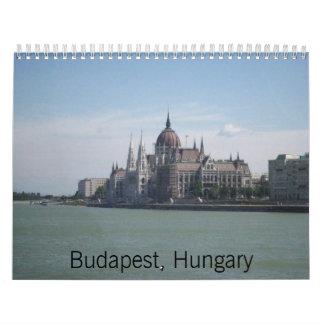 Budapest, Hungary Calendar