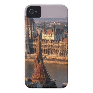 Budapest, Hungría, el río Danubio, el parlamento Carcasa Para iPhone 4 De Case-Mate