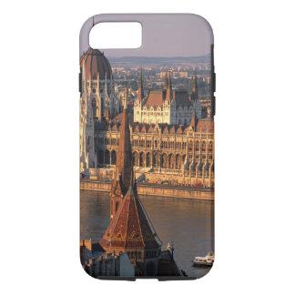 Budapest, Hungría, el río Danubio, el parlamento Funda iPhone 7