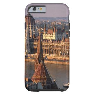 Budapest, Hungría, el río Danubio, el parlamento Funda Resistente iPhone 6
