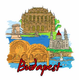 Budapest - Hungría Fotoescultura Vertical