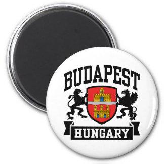 Budapest Hungría Imán Redondo 5 Cm