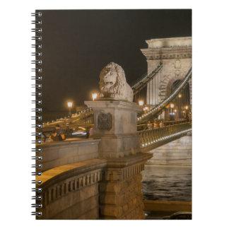 Budapest, Hungría Libro De Apuntes Con Espiral