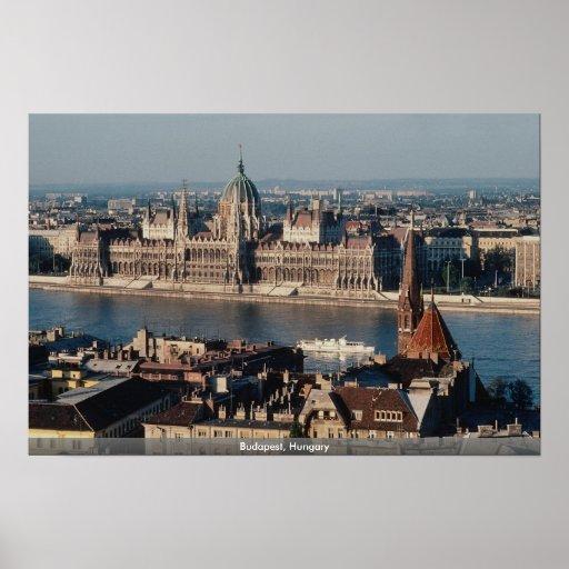 Budapest, Hungría Poster