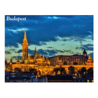 Budapest, Hungría Tarjeta Postal