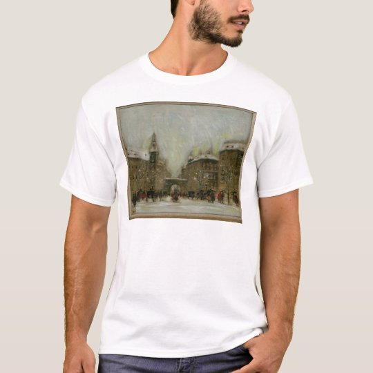 Budapest in the Snow T-Shirt