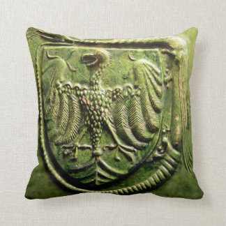 budapest museum hungary ceramic tile seal history pillow