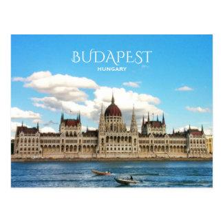 Budapest, Parliament Postcard