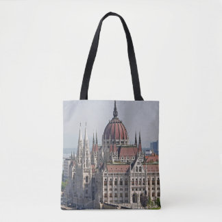 Budapest parliament south side, Hungary Tote Bag