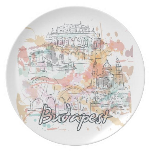 Budapest Plate