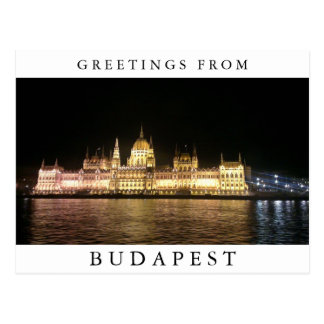 Budapest Posctard Postcard