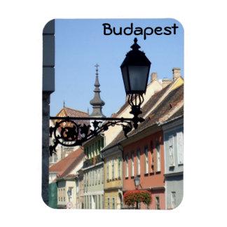 Budapest Rectangular Photo Magnet