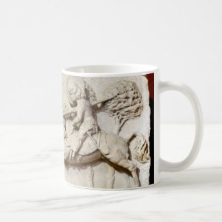 budapest saint george stone exhibit religion ruin coffee mug