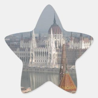 Budapest Star Sticker