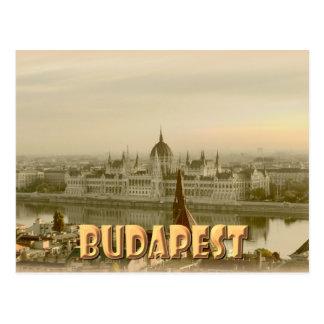 Budapest Tarjeta Postal