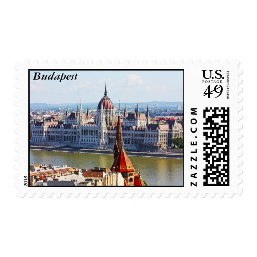 Budapest, the building of the Parliament, Budapest Postage
