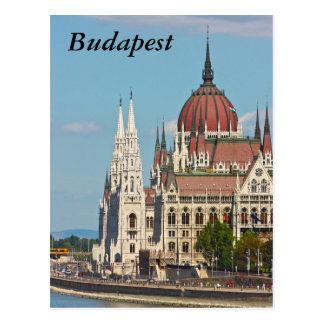 Budapest the building of the Parliament Budapest Post Cards