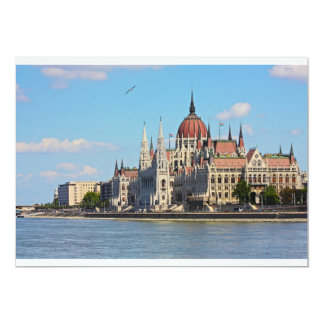 Budapest, the building of the Parliament Card