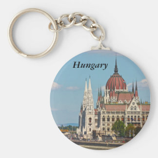 Budapest, the building of the Parliament, Hungary Keychain