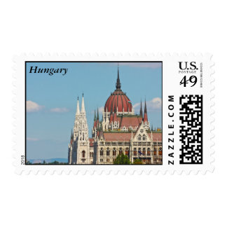 Budapest, the building of the Parliament, Hungary Postage Stamps