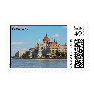 Budapest, the building of the Parliament, Hungary Stamps